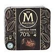 Helado intense dark chocolate 70% Pack 3 x 100 ml  Magnum Frigo