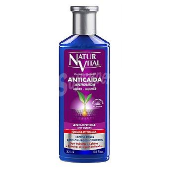 Naturaleza y Vida Champú anticaída mujer anti-rotura para cabellos largos 300 ml