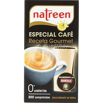 Natreen Edulcorante especial café receta gourmet 0 calorías Dosificador 300 comprimidos