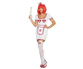 Atosa Disfraz de enfermera para adulto, talla M-L,
