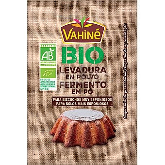 Vahiné Bio levadura en polvo ecológica Caja 35 g