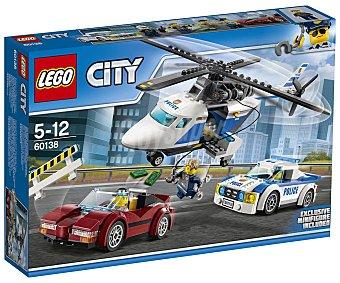 LEGO City Juego de construcciones con 294 piezas Persecución por la autopista, City 60138 lego