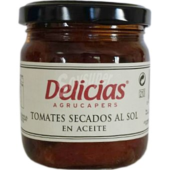 Delicias Tomates secos al sol en aceite frasco 210 g Frasco 210 g