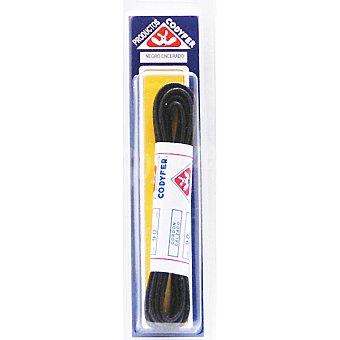 CODYFER Cordones encerados negros 90 cm