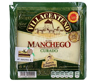 García Baquero Queso de oveja Manchego villacenteno 250 gr