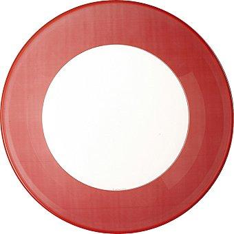 LUMINARC Plato Simply Colors Plato de postre 20 cm en color rojo 1 Unidad