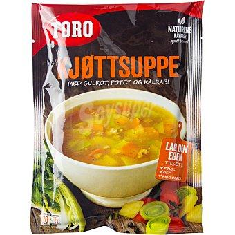 Toro Sopa de carne y vegetales sobre 84 g sobre 84 g