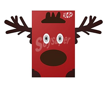 Nestlé Barritas Kit Kat minis Rudolph 196,5 gr