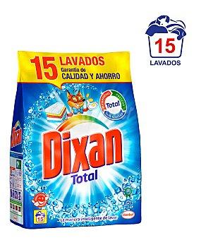 Dixan Detergente en polvo Bolsa 15 cacitos