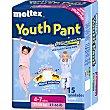 Braguita Youth Pant de noche 4-7 años 17-30 kg 17-30 kg 15 unidades Moltex