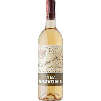 GRAVONIA Vino blanco viura crianza doca Rioja botella 75 cl Botella 75 cl