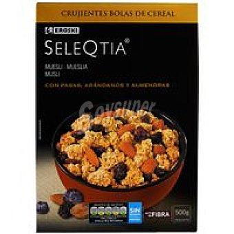 Eroski Seleqtia Cereales con arándanos Caja 500 g