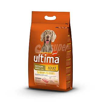 Ultima Affinity Alimento para perros adulto con cordero Bolsa 3 kg