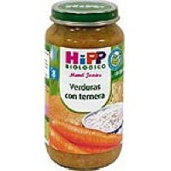 HiPP Biológico Tarrito biológico de zanahoria-patata-carne Tarro 190 g