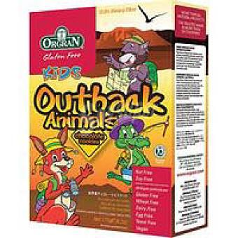 Orgran Outback animal choco Caja 175 g