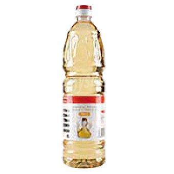 Eroski Basic Vinagre de vino blanco Botella 1 litro