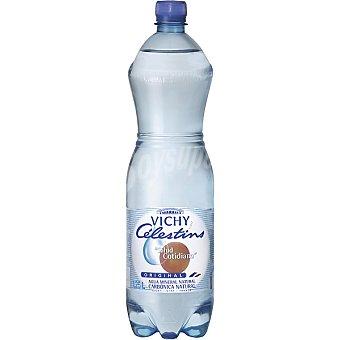 VICHY CELESTIN'S Agua mineral natural con gas botella 1,25 cl