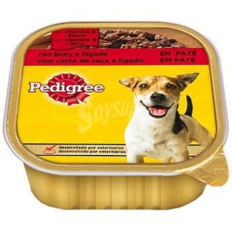 Pedigree Para perro paté de buey e hígado Tarrina 300 g