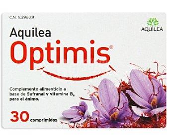 AQUILEA Optimis Complemento alimenticio a base de Sefranal y Vitamina B6 para el ánimo 30 Comprimidos