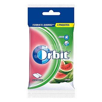 Orbit Chicles sabor sandía 4 paquetes de 10 ud 40 ud