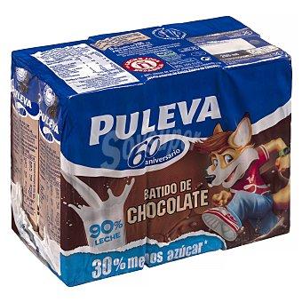 Puleva Batido de cacao Pack 6 x 200 ml