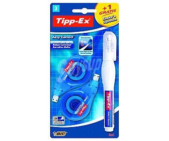 Tipp-Ex Lote de 2 cintas correctoras + lapíz corrector Shake´n´squeeze