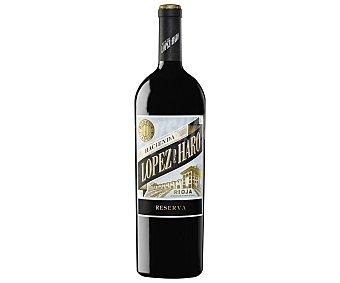 Lopez de haro Vino tinto reserva con denominación de origen Rioja 150 cl
