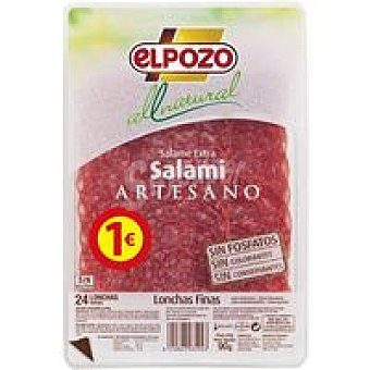 ElPozo Salami All Natural 80G