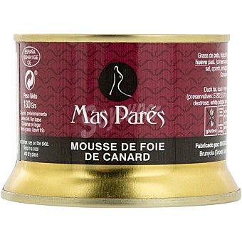 Mas pares Mousse de foie de pato envase 130 g envase 130 g