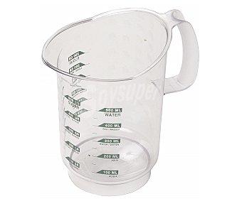 Curver Jarra medidora con capacidad graduada para líquido, hasta 1,2 Litros y para azúcar, 900 gramos 1 unidad