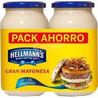 Hellmann's Mayonesa 2 unidades de 450 ml