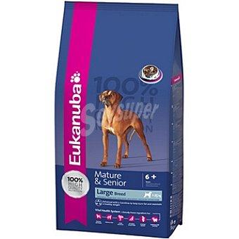 EUKANUBA MATURE & SENIOR Large Breed Alimento completo para perros de raza grande y gigante en su madurez con pollo Bolsa 15 kg