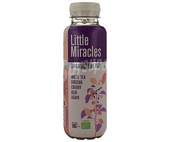 LITTLE MIRACLES Bebida orgánica de te blanco con ginseng y cereza 330 mililitros