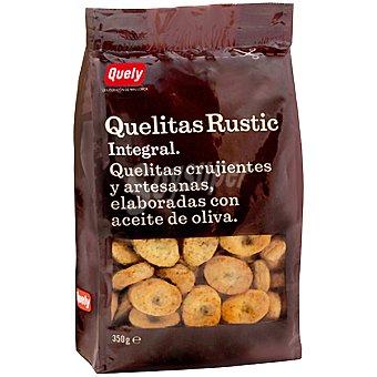 QUELY QUELITAS Mini galletas de Inca rústicas integrales de Mallorca bolsa 350 g Bolsa 350 g