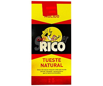 Rico Café molido natural extra molido 250 gramos