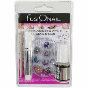 Fusionail KIT Uñas Strass 1 unidad