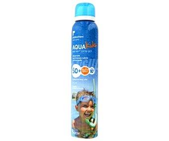 AQUA Kids Spray Gel protector solar FP50 , Alta protección 150 Mililitros