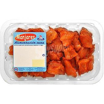 PUJANTE Preparado de pinchos morunos de pollo Bandeja 420 g