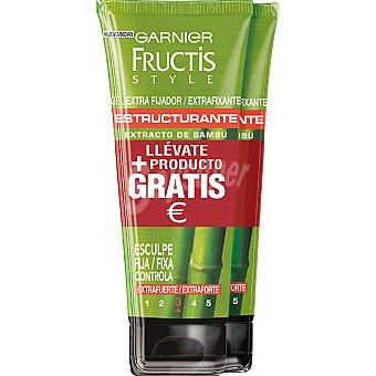 FRUCTIS STYLE gel fijación extra fuerte pack 2 tubo 200 ml