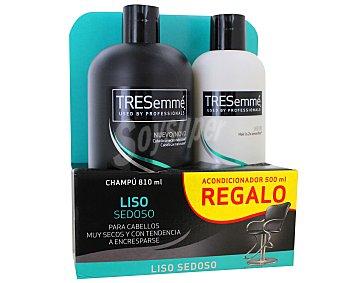 Tresemmé Champú para cabello liso 810 mililitros+ acondicionador 500 mililitros