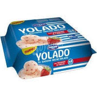 Yolado Danone Yolado&fresa Pack 4x78,25 g