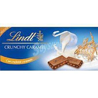 Lindt Chocolate con leche y crujiente de caramelo 100G