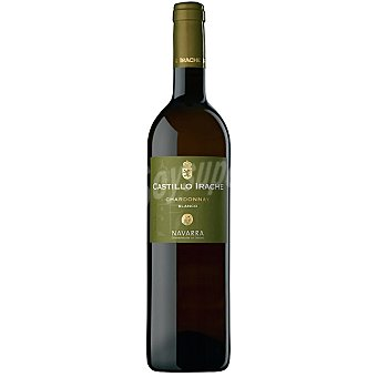 Castillo Irache vino blanco chardonnay D.O. Navarra botella 75 cl