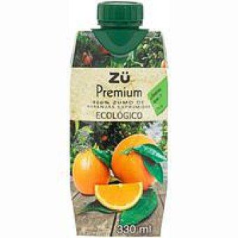 Zü Premium Zumo de naranja ecológica 33 cl