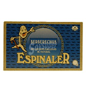 Conservas Espinaler Berberechos 40 piezas 65 g