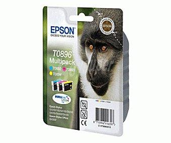 Epson Cartucho S20 S21 SX 100 Multipack 4 Colores 4 Un
