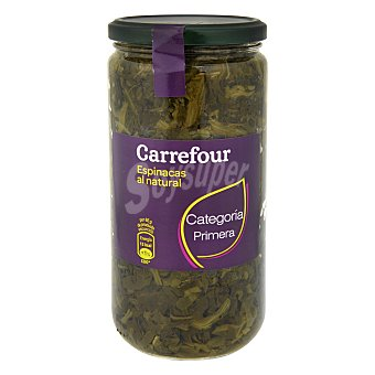 Carrefour Espinacas al natural 425 g