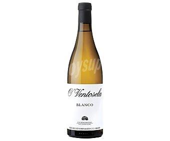O´ Ventosela Vino blanco con denominación de origen Ribeiro Botella de 75 cl