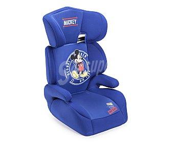 Mickey Elevador bebé para grupo 2-3, con cabezal y apoya brazos, color azul 2-3