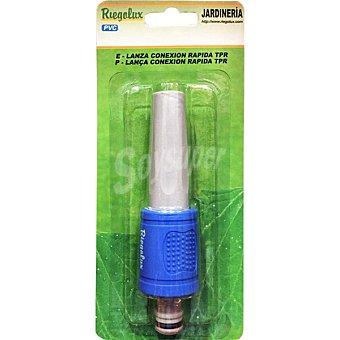 BM Lanza de riego basica ajustable color azul
